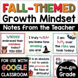 Growth Mindset Notes from the Teacher   Encouraging Notes