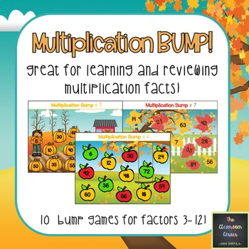 Multiplication Bump Games!