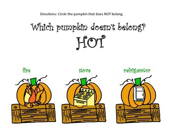 Basic Concepts / Categories - FALL THEME
