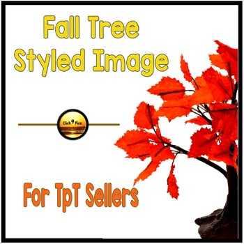 FALL TREE Styled Image for Commercial Use