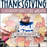 FALL, Thanksgiving Thankful Wreath Paper Craft