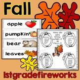 FALL...Reading, Writing, & Math