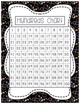 FALL Themed Hundreds Charts