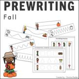 Tracing Skill Prewriting Practice Worksheets Fall
