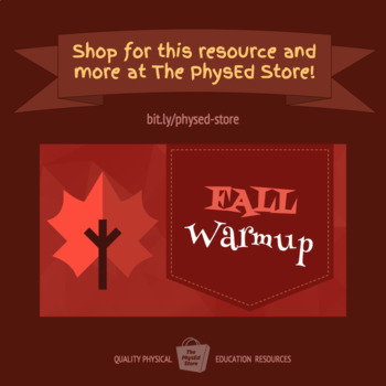 FALL WARMUP | Physical Education Exercise