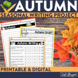 FALL / AUTUMN WRITING PROJECT