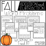 FALL Word Problems (Addition/Subtraction to 5 and 10)