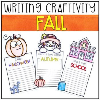 FALL Writing Craftivity