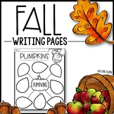 FALL Writing Pages - Creative Writing Prompts