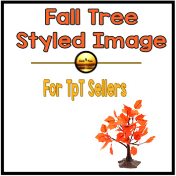 FALL and AUTUMN Tree Styled Image for Commercial Use