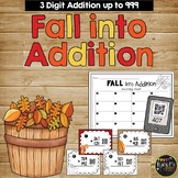 Addition with Regrouping Game, Math Scoot {QR Codes} Fall, Autumn