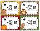 FALL into Addition Scoot with & without Regrouping {QR Codes}