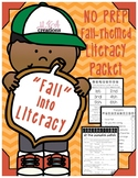 FALL into LITERACY: A NO PREP, Fall-Themed Literacy Packet