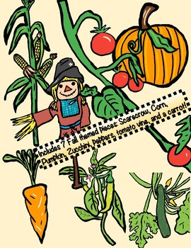 FALL Garden themed Clip Art