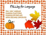 FALLing for Language- Labeling, Object Function, Synonyms, & Antonyms