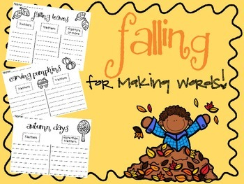 FALLing for Making Words Set