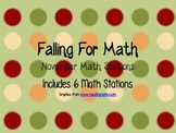 FALLing for Math-November Math Stations