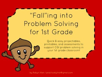 """FALL""ing into Problem Solving for 1st Grade"