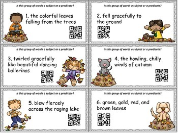 FALLing into Subjects and Predicates SCOOT
