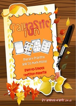 FALLtastic fun - literacy practice and much more