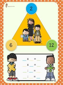 FAMIGLIE DI NUMERI - tabelline e divisioni inverse