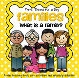 FAMILIES Theme Centers and Activities for Preschool and Pre-K
