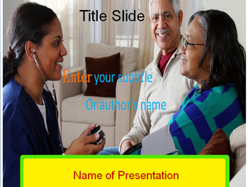 FAMILY DOCTOR POWERPOINT TEMPLATE