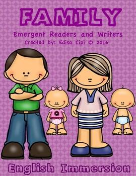 FAMILY MEMBERS IN ENGLISH