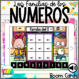 FAMILY NUMBER BOOM CARDS (SPANISH) Distance learning