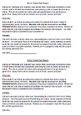 ORAL PRESENTATION Totem Pole Project RUBRIC +LETTER Aboriginal English or French