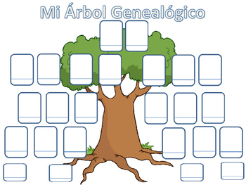 FAMILY TREE IN SPANISH