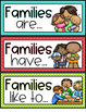 FAMILY UNIT FOR PRESCHOOL, PRE-K AND KINDERGARTEN