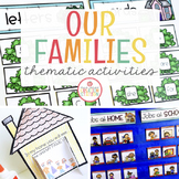 FAMILY THEME ACTIVITIES FOR PRESCHOOL, PRE-K AND KINDERGARTEN