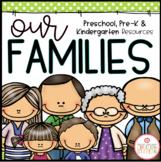 FAMILY THEME ACTIVITIES FOR PRESCHOOL, PRE-K AND KINDERGARTEN
