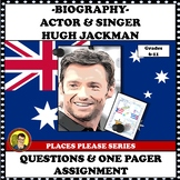 FAMOUS ARTIST: HUGH JACKMAN ONE PAGER ASSIGNMENT