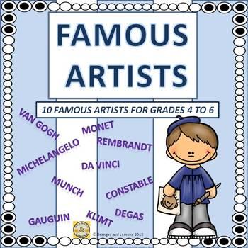 Famous Artists (10 Famous Artists)