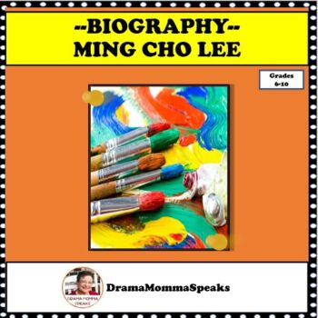 FAMOUS ARTISTS:  MING CHO LEE SCENIC DESIGNER