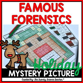 FAMOUS FORENSICS CASES: HOLIDAY MYSTERY PICTURE [FORENSICS CHRISTMAS ACTIVITY]