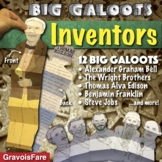 FAMOUS INVENTORS: 12 Big Galoots Foldables (Edison, Ford, Wright Brothers, etc.)
