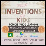 FAMOUS KID INVENTORS & INVENTIONS // PDF + DIGITAL RESOURCE