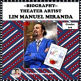 FAMOUS AMERICAN: LIN MANUEL MIRANDA ONE PAGER ASSIGNMENT