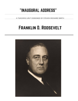 FAMOUS SPEECHES: FRANKLIN D. ROOSEVELT'S INAUGURAL ADDRESS
