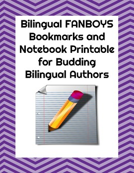 FANBOYS Bilingual Acronym Printable for Interactive Notebook