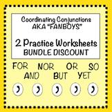 FANBOYS Bundle: Worksheet #1 and #2