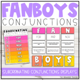 FANBOYS Coordinating Conjunctions Poster Set