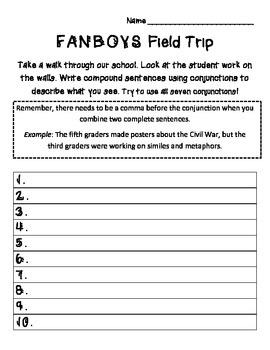FANBOYS Field Trip