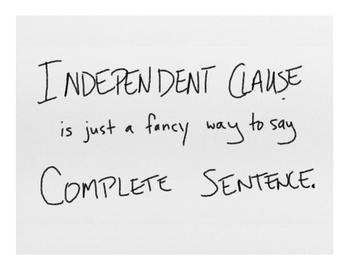 Commas: FANBOYS Instruction