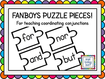FANBOYS Puzzle Pieces