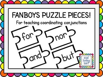 FANBOYS Puzzle Pieces