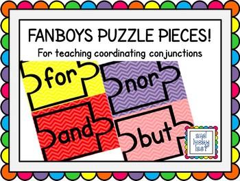 FANBOYS Puzzle Pieces - Chevron